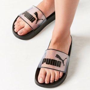 dedd1cb0d4e9 ... Sandal White 364533-02  Puma Shoes - Urban outfitters Puma Leadcat  Jelly slide ...