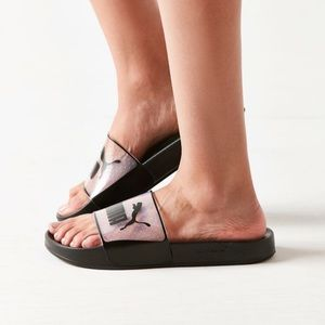 66081fe4e255 Puma Shoes - Urban outfitters Puma Leadcat Jelly slide