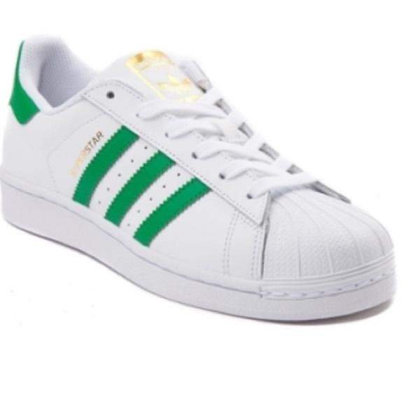 Adidas zapatos  mujer superstar zapatilla poshmark Verde