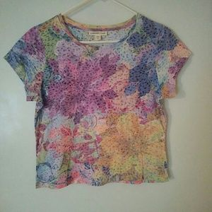 Coldwater Creek floral tee