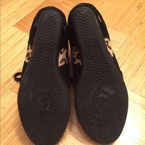 7fdb89c43282 Ash Shoes - Ash Bonno Leopard Print Calf Hair Wedge Sneaker