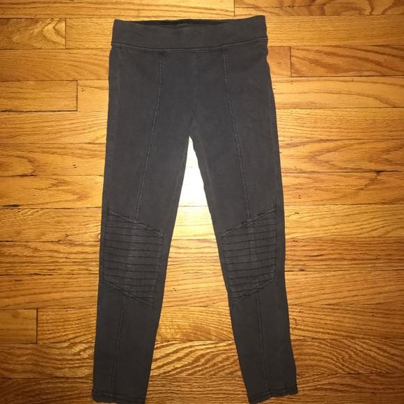 e604495ed3f8e Tucker + Tate Bottoms | Girls Tuckertate Moto Leggings Black Size ...