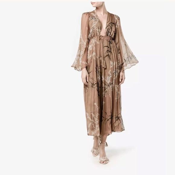 84ee87f4fd0 Zimmermann Gossamer Bamboo Print Jumpsuit 0 1 2. M 59dc4875d14d7bbde800c9ed
