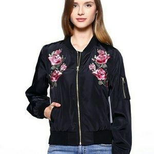 Jackets & Blazers - NEW ARRIVAL ( Floral bomber jacket )
