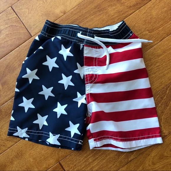 867fe9dc77 Old Navy Swim | Patriotic Trunks American Flag | Poshmark