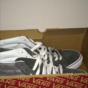 Vans Sk8 Hi Slim (Metallic Dots) Skateboard shoes