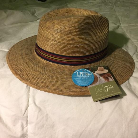 6dcca4a7 Beautiful hand woven Tula Hat NWT