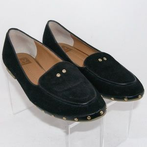 DV by Dolce Vita 'Molly' suede studded flats 8.5