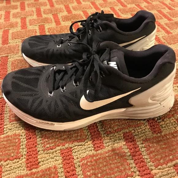 48a86687b9a9c SALE Men s Nike Lunarglide 6 running shoes 7.5. M 59dc5ce66802788e5400eaca