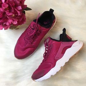 0dab342790b2 Nike Shoes - Nike Air Huarache Run Ultra Sport Fuchsia Black