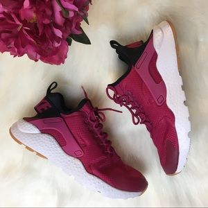50aff1f38277 Nike Shoes - Nike Air Huarache Run Ultra Sport Fuchsia Black