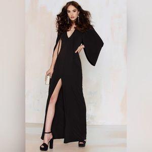 NEW Cold Shoulder Kimono Sleeves Dress