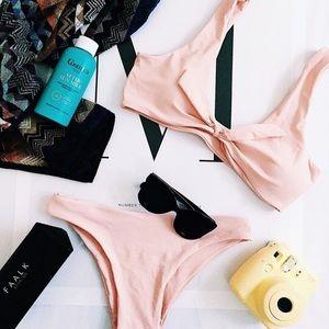 Other - Rose Knotted Bikini Set