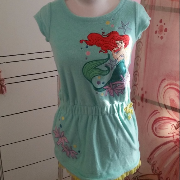 f42d3c3052 Disney Store Other - The Little Mermaid Ariel Girl Swimsuit Cover Up