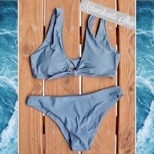 Other - Slate Blue Bikini Set