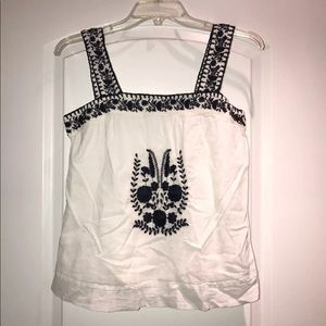 Authentic Joie embroidered tank top!