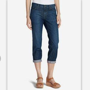 Eddie Bauer Boyfriend Crop Jeans