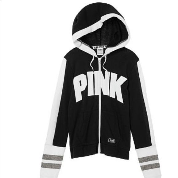 e00f26b5 PINK Victoria's Secret Tops | Pink Perfect Full Zip | Poshmark