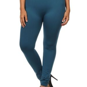 Pants - Plus Size Fleece Lined Leggings. Great for Winter!