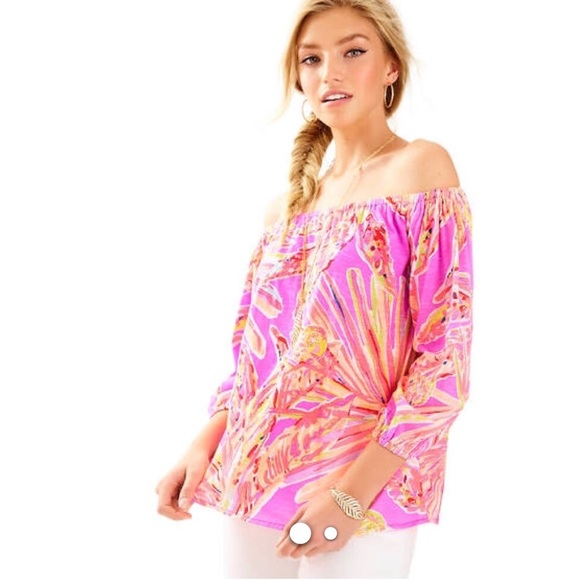 bcb7b2dc006b84 Lilly Pulitzer Enna knit top