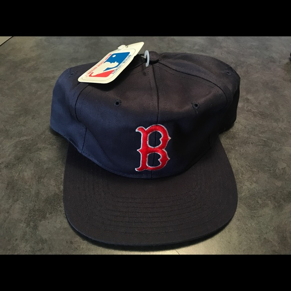 f70c94c99a1719 universal industries Accessories | Nwt Vintage Red Sox Snapback Hat ...