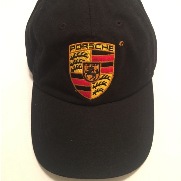011316469de Porsche Dad Hat Adjustable Black Genuine Merch. M 59dcc813981829bb390097a6