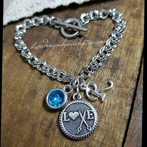 Jewelry - Hairstylist charm bracelet