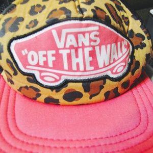 VANS PINK HAT