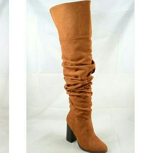 Shoes - Tall Slouch Boots
