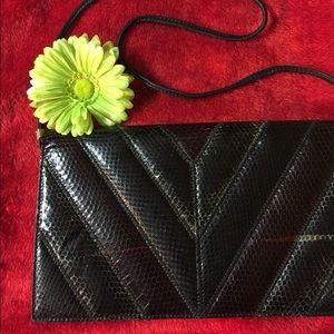 Handbags - 💲GENUINE SNAKESKIN CLUTCH!