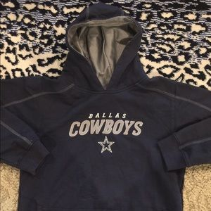 Reebok Shirts   Tops - NFL DALLAS COWBOYS LIKE NEW HOODIE KIDS SIZE 10-12 bfd4c23ef