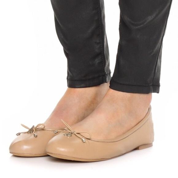 b132bc6fbdfc EUC Sam Edelman Felicia nude leather ballet flats.  M_59dcd3ed4e8d1775a300bc87