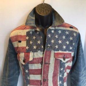 53cc4e2965 Denim   Supply Ralph Lauren Jackets   Coats - Denim   Supply Ralph Lauren  American Flag