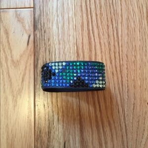 H&M blue beaded bracelet free with purchase
