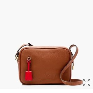 JCrews Best Seller Signet bag in Italian leather