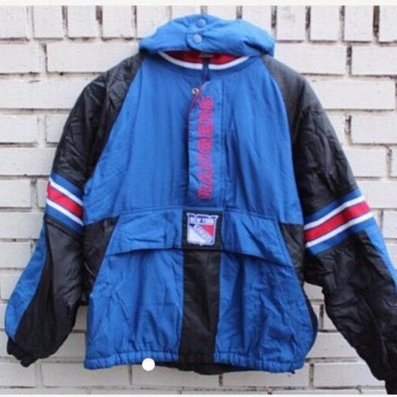 ️Vintage NY Rangers Starter Jacket. M 59dcde317fab3ae68b00dda9 2c96436a37