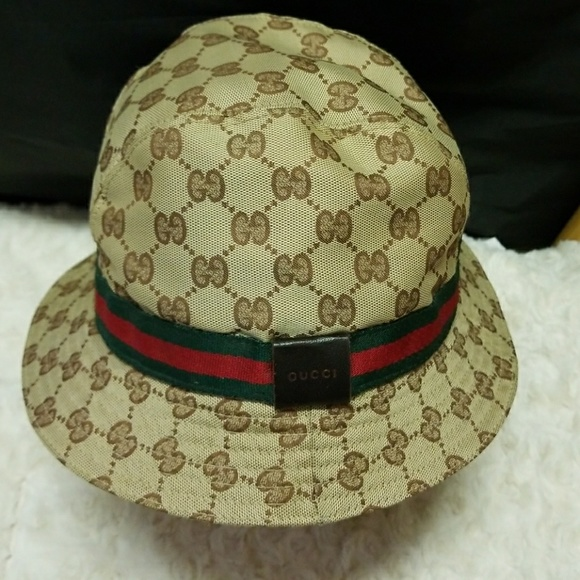 4ad11d5371c03 Gucci Accessories - SALE GUCCI Fodera Bucket Hat -Size M