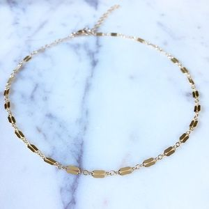 Jewelry - ✨Minimalist Double Bar Sequin Choker Necklace✨