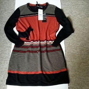 Taifun sweater dress M-L or 8-12