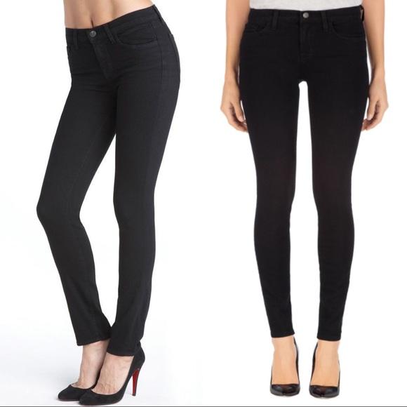 d23232830d1e J Brand Denim - Jbrand 811 mid rise shadow black jeans 26