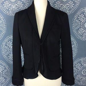 DVF Black Wool Blazer