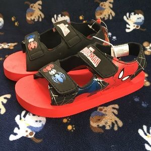 Other - Spider-Man Sandals Size 9/10 Large
