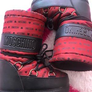 Kids Moschino moon boots