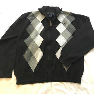 Boy's IZOD Argyle Sweater