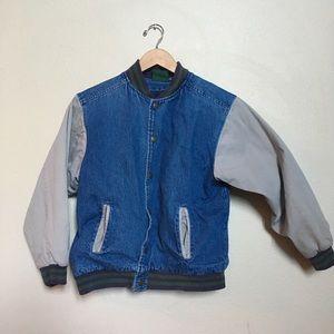 Vintage Flannel Lined Jean Jacket