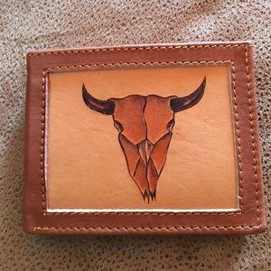 New men wallet, leather,