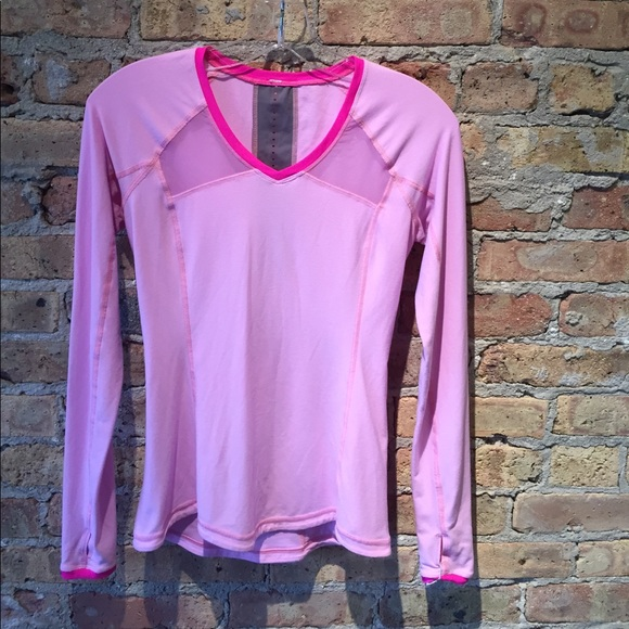 lululemon athletica Tops - Lululemon pink top, sz 4, 54783