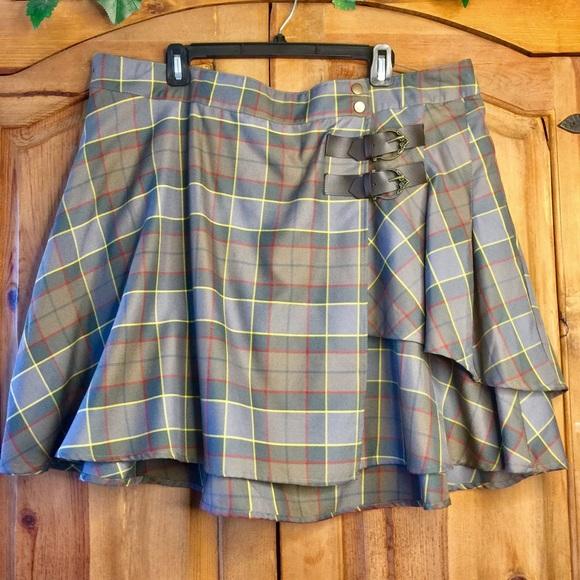 0d1bdf0f51 torrid Skirts | Outlander Fraser Tartan Plaid Kilt Skirt | Poshmark