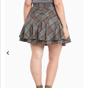 f26d11dc8 torrid Skirts   Outlander Fraser Tartan Plaid Kilt Skirt   Poshmark