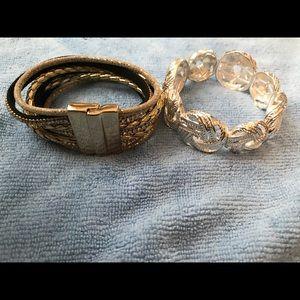 Two beautiful bracelets